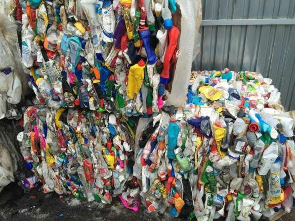 Продаём ПНД флаконы и бутылки прессованные для переработки