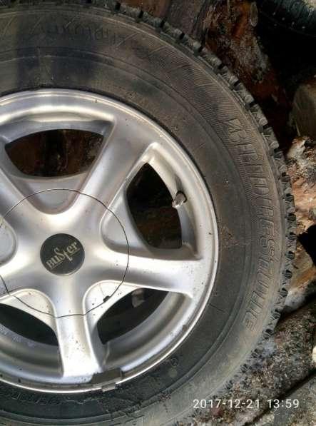 Колеса Bridgestone blizzak mz-03 175/79 R13 82Q в Екатеринбурге