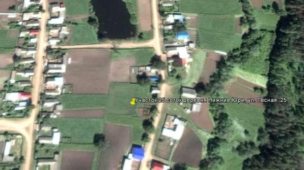 Продам участок для ИЖС в деревне Нижние Юри