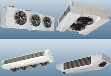 Охладитель испаритель радиатор холодильный камеры склада