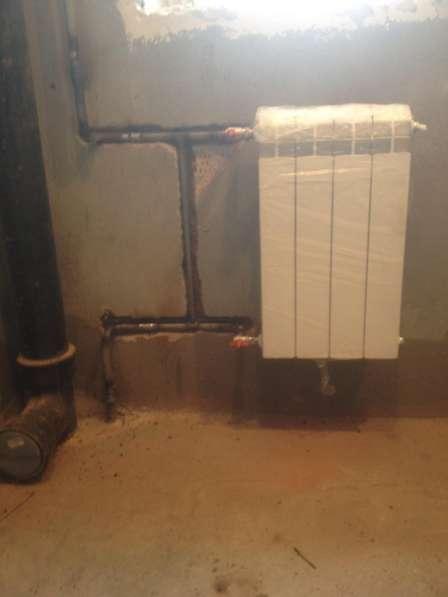 Устновка, замена радиаторов со сваркой в Новосибирске