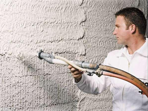 Штукатурка стен механизированным способом