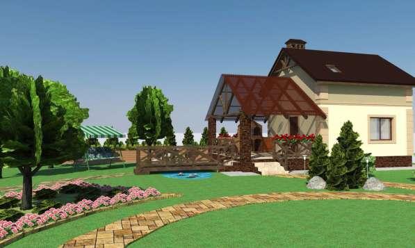 Проект вашего дома, ландшафтный проект