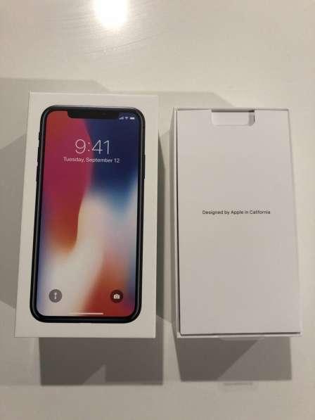 Apple iPhone X - 256 ГБ - Космический серый (разблокирован) в