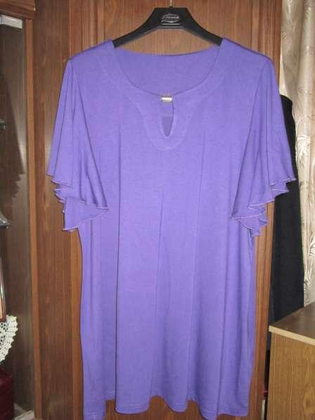 Блузка летняя (размер-56-58)