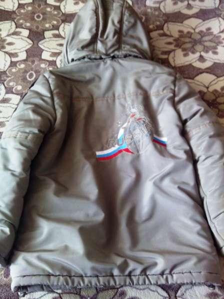 Куртка зимняя на мальчика 9 - 11 (12) лет в Москве фото 4