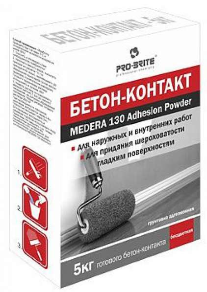 Грунтовка Medera 130 Adhesion Powder (Бетон-контакт бесцветн