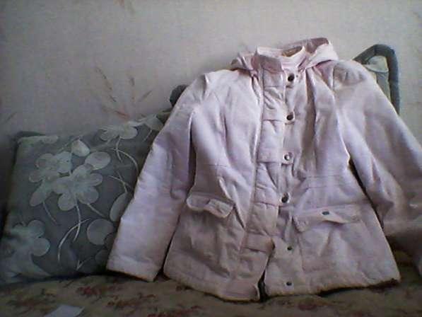 Куртка демисезонная розовый вельвет
