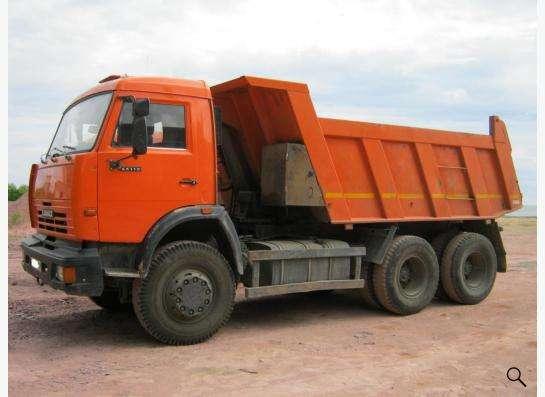 Услуги самосвалов КАМАЗ в Екатеринбурге