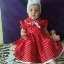 Платье для девочки 1-1,5 года, в Самаре