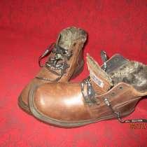 Продам новые кожаные зимние мужские ботинки на меху, в г.Черкассы