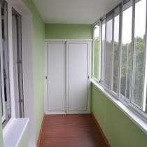 Отделка балконов, установка балконов пластиковых, в Челябинске
