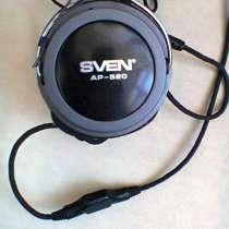 Наушники с микрофоном SVEN AP-520 Black, в Москве