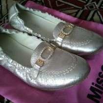 Продам итальянские туфли на девочку. Missouri, в Челябинске