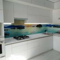Кухонный фартук 4мм, стеко каленое, в г.Брест