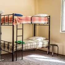 Кровати двухъярусные, односпальные металлокаркас, в Геленджике