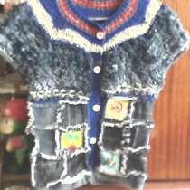 Жилет кофточка кофта для девочки из джинсовой ткани, в г.Донецк