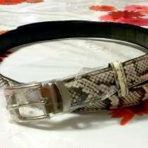 Продам женский ремень из кожи змеи, в г.Новосибирск