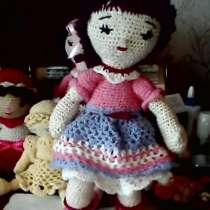 Кукла вязаная игрушка, в г.Донецк