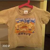 Фирменная футболка с верблюдами из Египта на 2 года, в Москве