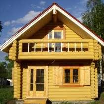 Строительство домов под ключ, срубы домов из делового леса, в Мытищи
