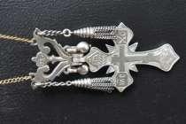 Серебряный нательный крест, в Тюмени