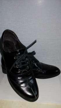 Кожаные туфли 35-р, в г.Алматы