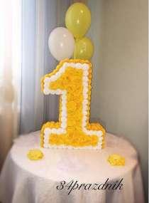 Объёмная цифра на день рождения, в Волгограде