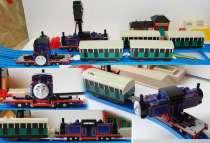 """Паровозик МАК с двумя вагонами. """"Томас и его друзья"""", в Санкт-Петербурге"""