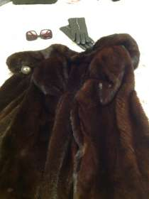 Мех норки Норковая mink fur coat, в г.Павия