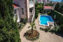 Дом с бассейном 418 м2, вид на море, под ключ, в г.Севастополь