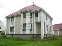 Великолепный 3-х эт. зимний дом на уч. 17 сот. в д. Касимово, в Санкт-Петербурге