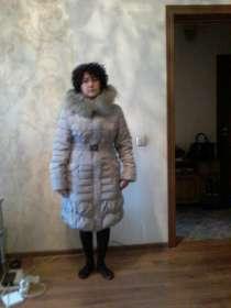 Cтеганое пальто на синтепоне размер 46-48, в г.Алматы