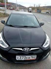 автомобиль Hyundai Solaris, в г.Самара