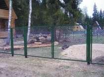 Ворота с сеткой или прутьями, в Ярославле