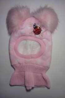 Зимняя шапка-шлем на девочку, в Химках
