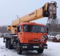 Продам автокран 25 тн-31 м; Ивановец;КАМАЗ; 2012 г/в, в Воронеже
