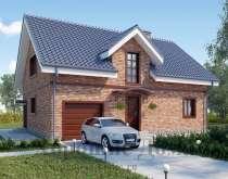 Строительство дома из газобетона 9.46x13.05 199.3 кв. м, в Москве