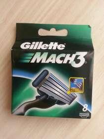 Лезвия Gillette Mach3 в упаковке (8 штук) Индонезия, в Волгограде