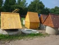 Колодезные домики, осиновый щит (донный фильтр), в г.Боровичи