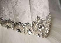 Свадебное платье новое с маленьким рукавчиком, в г.Симферополь