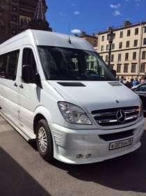 Заказ микроавтобусов / автобусов 5-8-19- мест, в Санкт-Петербурге