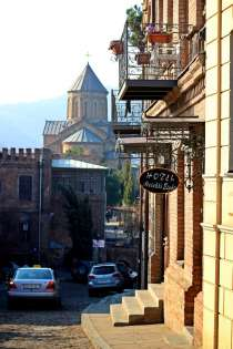 Metekhi eight hotel, в г.Тбилиси