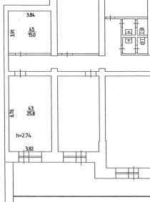Офисное помещение на Пушкина, 80 (26 кв. м), в Перми