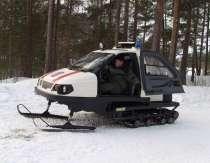 Снегоход с закрытой кабиной, в Иркутске