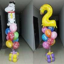 Гелиевые шары 30 руб, цветы 40 руб, фигуры из шаров, в Краснодаре