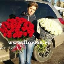 101 роза в Липецке, в Липецке