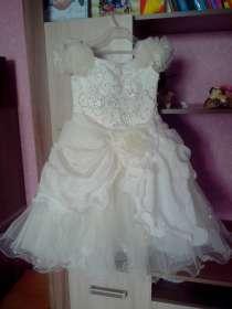 Выпускное платье для девочки 6-7 лет + туфли для девочки, в Оренбурге