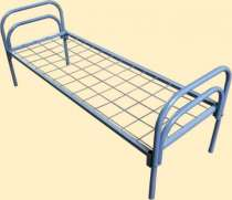 Железные двухъярусные кровати для бытовок, для общежитий, металлические кровати для интернатов. Дёшево., в Сочи