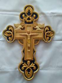 Деревянный крест ручной работы, в г.Кишинёв